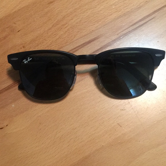 1dceaac9b8 low price customized ray ban clubmaster 3016 all black a3c0b c31ae